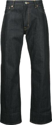 Junya Watanabe Comme Des Garcons Man Patch Detail Jeans Men Cotton L, Blue