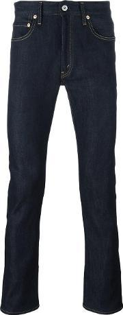 Skinny Jeans Men Cottonpolyester S, Blue