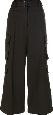 High Waisted Culottes With Pockets