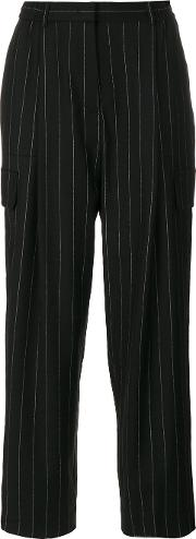 Stripy Loose Fit Trousers