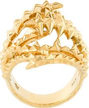 The Blades Of Octopi Ring