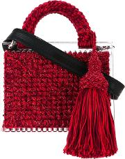 711 rina St. Barts Tote Women 0  4 One Size, Red