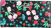 Kate Spade Floral Card Case Women Leather One Size, Black