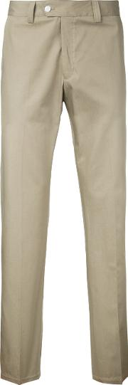 Classic Chinos Men Cotton 46, Brown