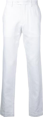 Classic Chinos Men Cottonlinenflax 52, White