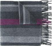 Reversible Scarf Men Cashmere One Size, Grey
