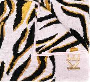 Tiger Knitted Scarf Kids Cottonwool