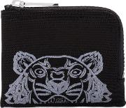 Tiger Head Embroidered Wallet