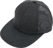 Semi Sheer Cap Men Paper One Size, Black