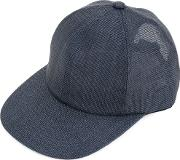 Semi Sheer Cap Men Paper One Size, Blue