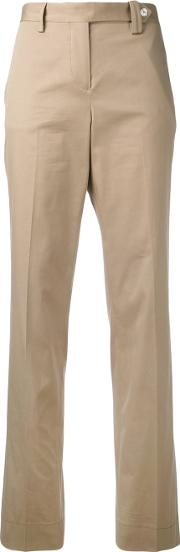 Tailored Trousers Women Cottonspandexelastane 44, Nudeneutrals