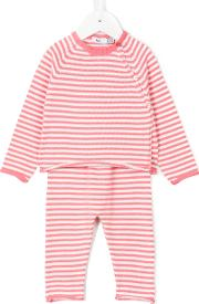 Striped Knitted Set