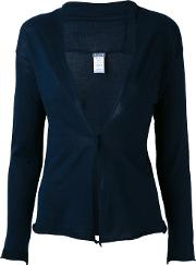 Single Breasted Cardigan Women Cotton 2, Blue