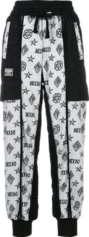 Logo Embroidered Trousers