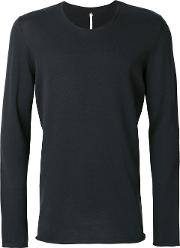 Punched Long Sleeved T Shirt