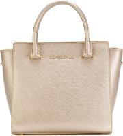 Small Top Handles Tote Women Leather One Size, Nudeneutrals