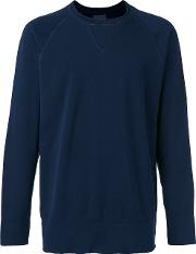 Crew Neck Sweatshirt Men Cotton Xl, Blue