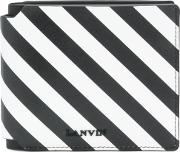 Striped Logo Wallet