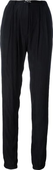 Tapered Trousers Women Polyesterviscose 34