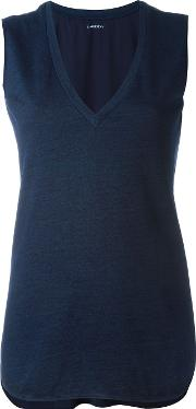'helen' Tank Top Women Cottonsilk S, Blue