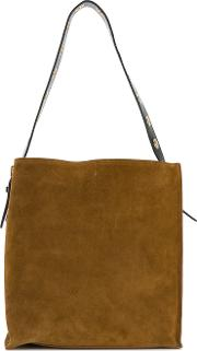 Tote With Contrast Strap