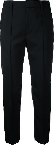 Neo Tapered Trousers Women Wool 32, Black
