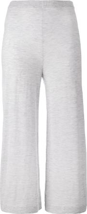 Le Kasha Thane Cropped Trousers Women Cashmere S, Grey