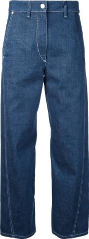 Twisted Jeans Women Cotton 36, Blue