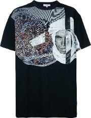 Leopard Print T Shirt Men Cottonspandexelastane Xl, Black
