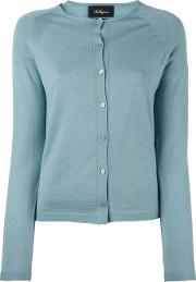 Classic Cardigan Women Virgin Wool 50, Blue