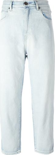 Levi's Made & Crafted Barrel Cropped Jeans Women Cotton 28, Blue