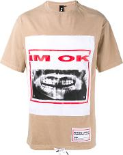 I'm Ok Printed T Shirt Men Cotton Xs, Nudeneutrals