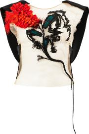 Patch Embellished Blouse