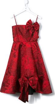 Rose Jacquard Pin Up Dress