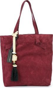 'essential' Tote Women Suede One Size, Women's, Red