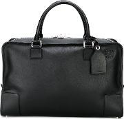 Large Tote Men Leather One Size, Black