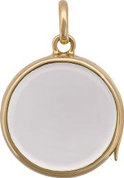 Medium Round Gold Locket Pendant