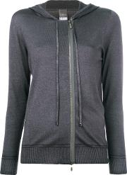 Hooded Zip Cardigan