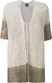 Two Tone Knitted Cardigan