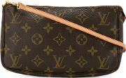 Monogram Coated Canvas Pouch