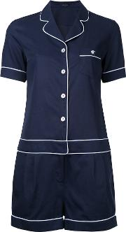 Pajama Playsuit Women Cottontencel 36, Blue