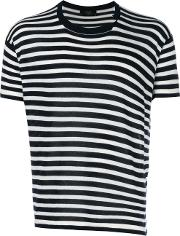 Striped Knitted T Shirt