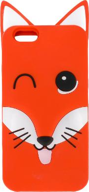 Fox Iphone 6 Case Men Silicone One Size, Red