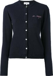 Maison Labiche En Vogue Cardigan Women Cottoncashmere L, Blue