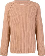 Cable Knit Fitted Sweater