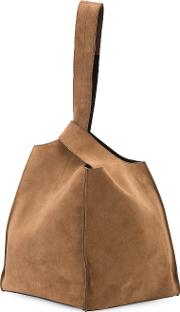 Hobo Bag And Clutch Women Calf Leather One Size, Brown