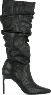 Pointed Pump Boots