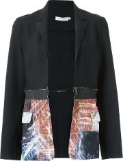 Printed Panels Blazer