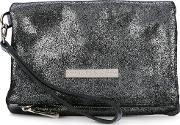 Floggy Clutch Women Leather One Size, Grey