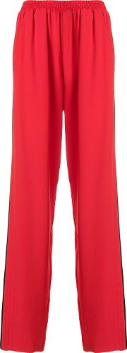 High Waisted Track Trousers